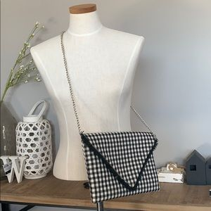Handbags - Buffalo Check Envelope Plaid Clutch Crossbody